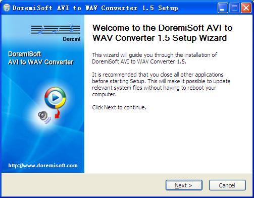 avi to wav converter free download